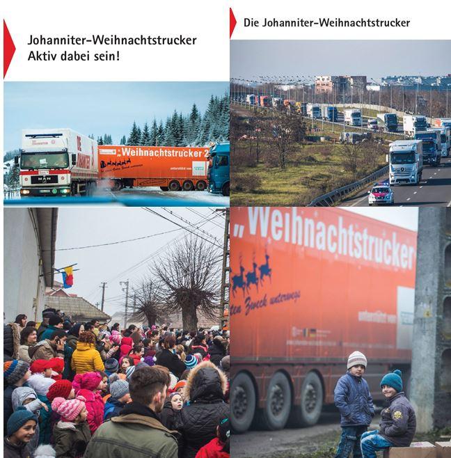 Johanniter-Weihnachtstrucker - wir sind aktiv dabei! Du auch?
