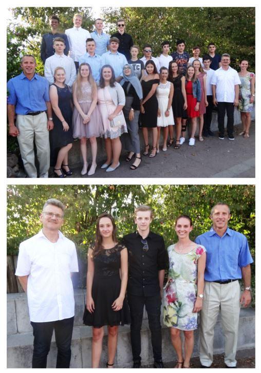 Erste Tandemklasse an Mittelschule Faulbach verabschiedet