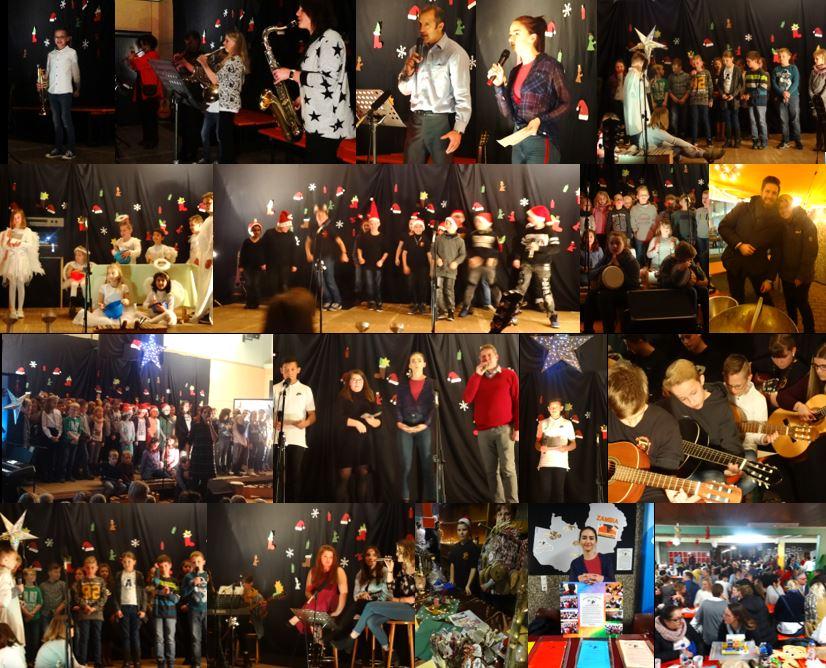 Prächtige Weihnachtsfeier der Faulbacher Schulfamilie 2018